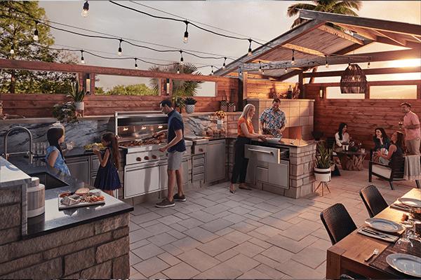 Outdoor Kitchen Appliance